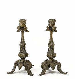 Vintage Vintage pair of candle holders