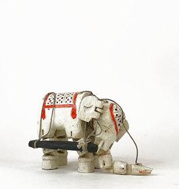 Vintage elephant puppet