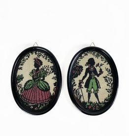 Vintage Vintage embroidery art