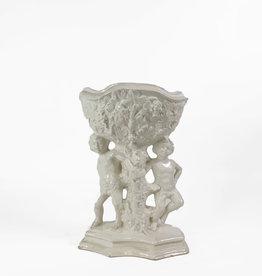 Vintage Vintage white porcelain vase