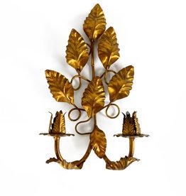 Vintage Florentine wall candle holder