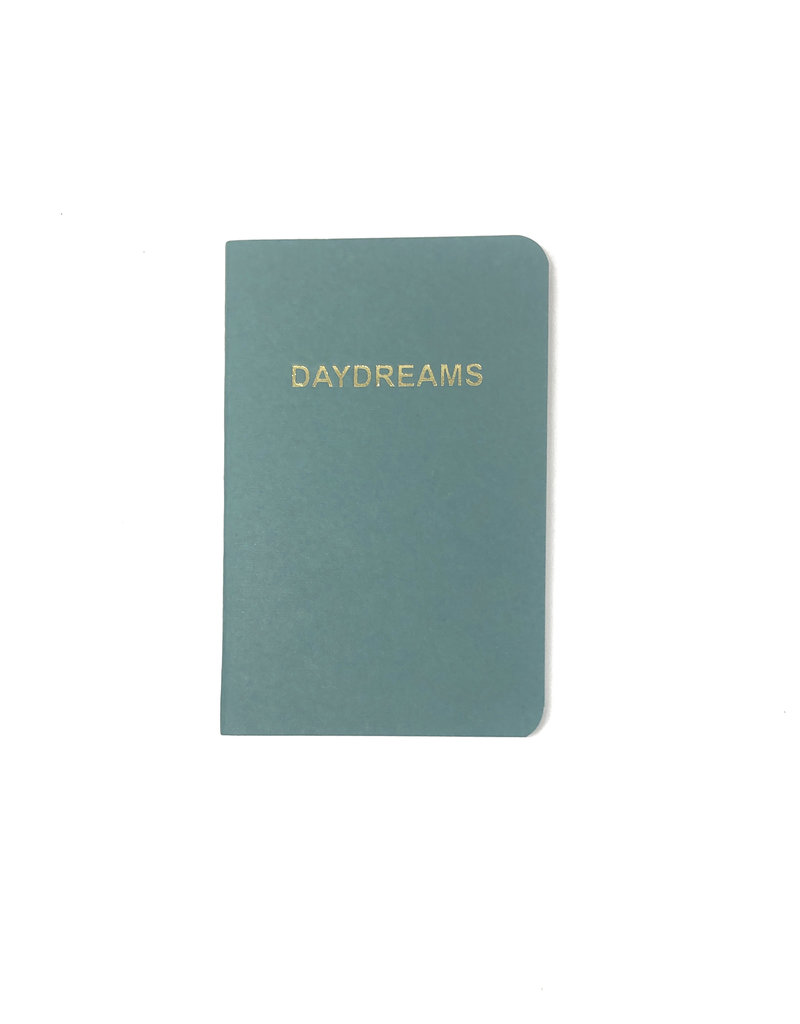 Soft Cover Notebook 9x14 cm, Daydreams oil blue