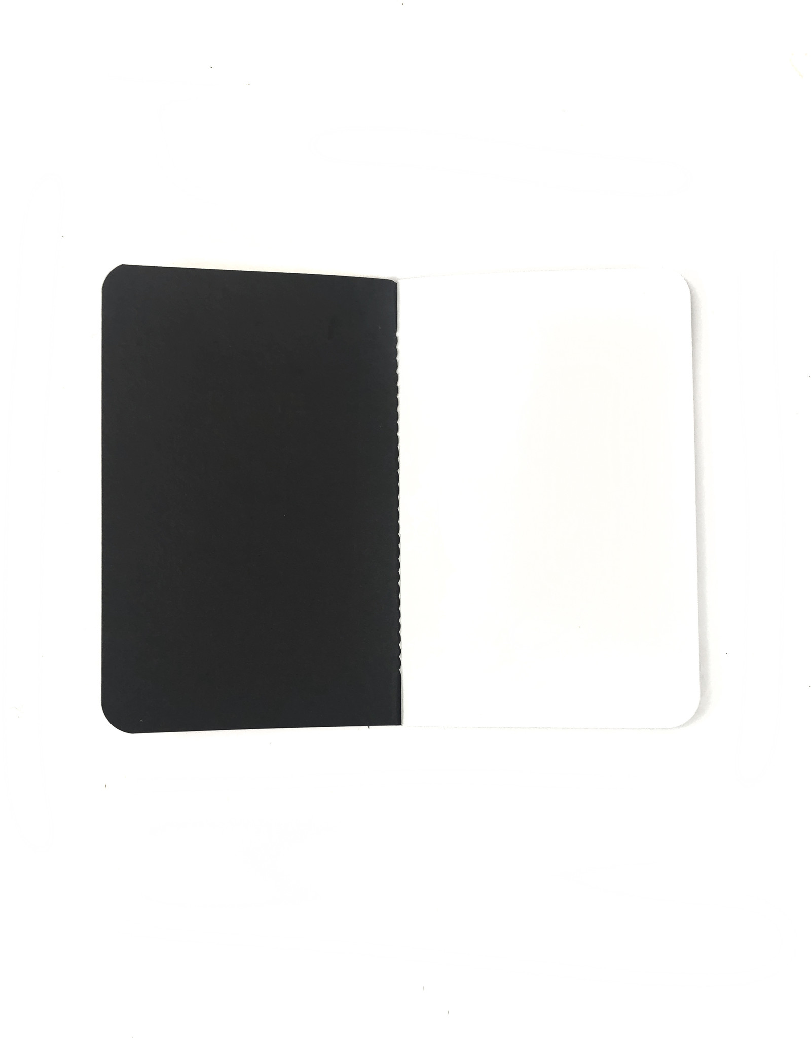 Soft Cover Notebook 9x14 cm, Curiosities quiet grey