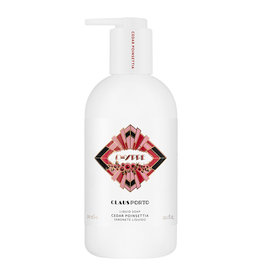 Claus Porto Chypre - cedar poinsettia liquid soap