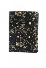 Soft Cover Notebook A5, Black moon child