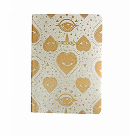 Soft Cover Notebook A5, Sun moon glacier