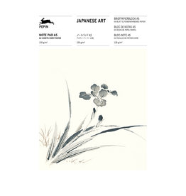 Pepin Press Japanese art A5 notepad, 64 sheets