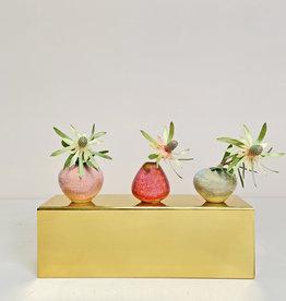 Set of three Lilo ceramic mini vases