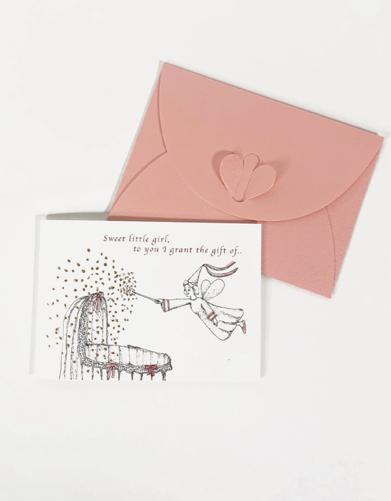 Marlies Boomsma Birth gift card -Girl