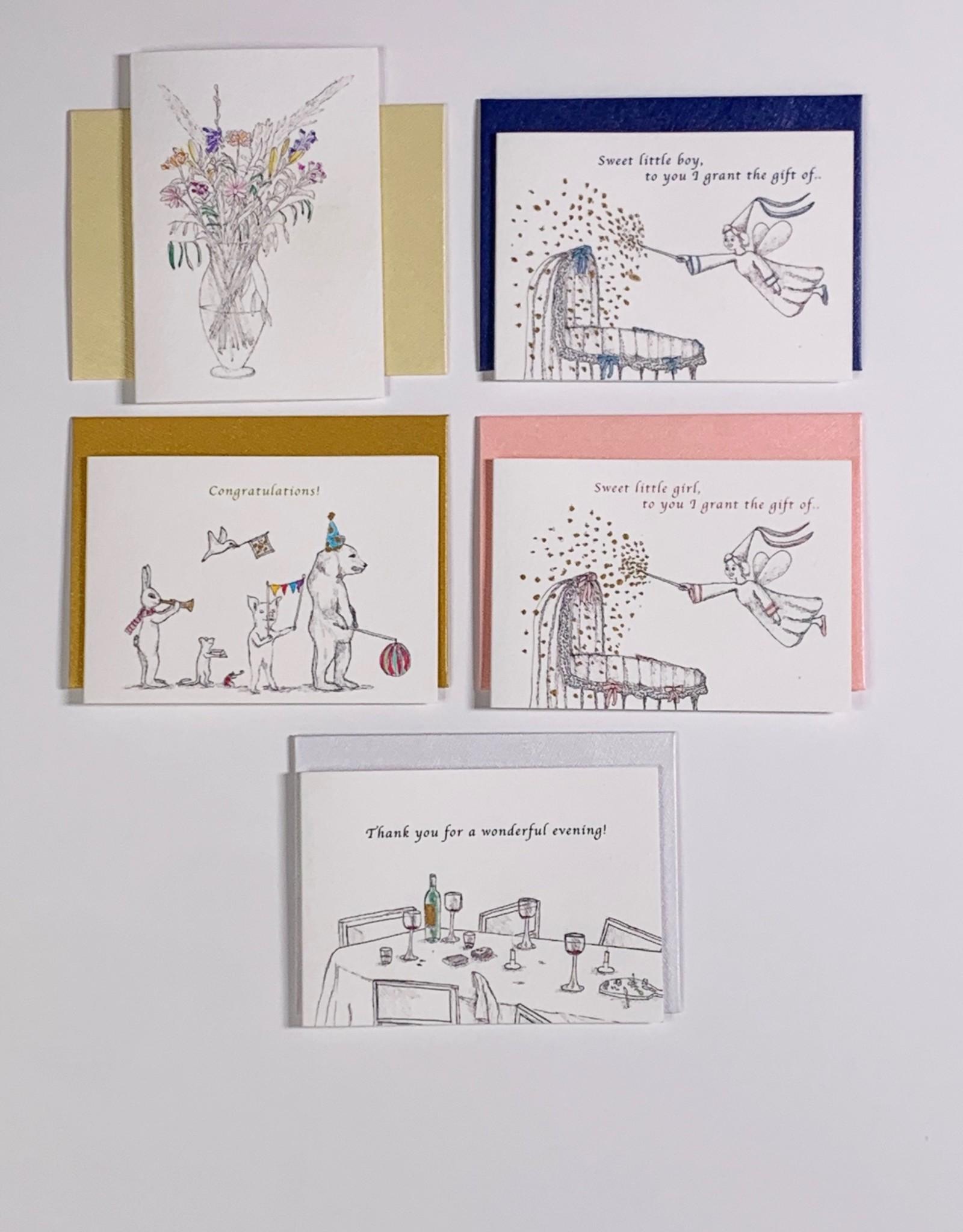 Marlies Boomsma Gift card Baby Girl - Marlies Boomsma