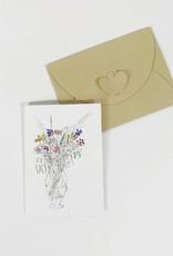 Marlies Boomsma Gift card Flowers - Marlies Boomsma