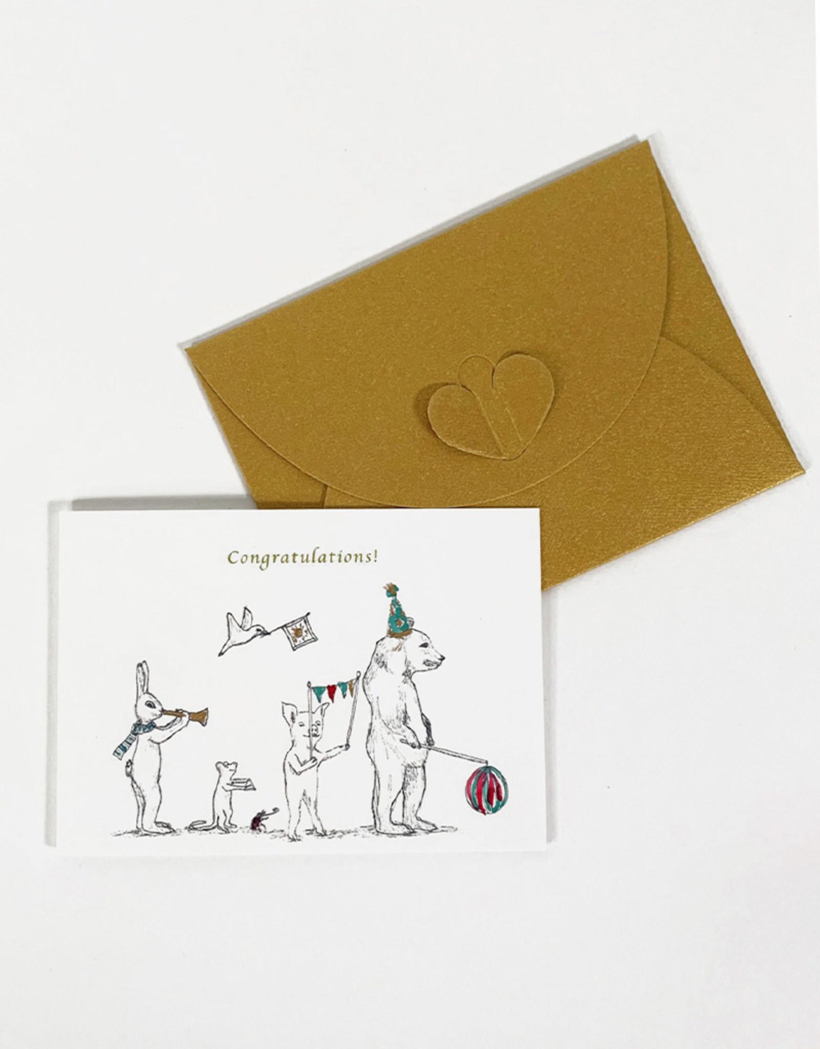 Marlies Boomsma Gift card Congratulations -Marlies Boomsma