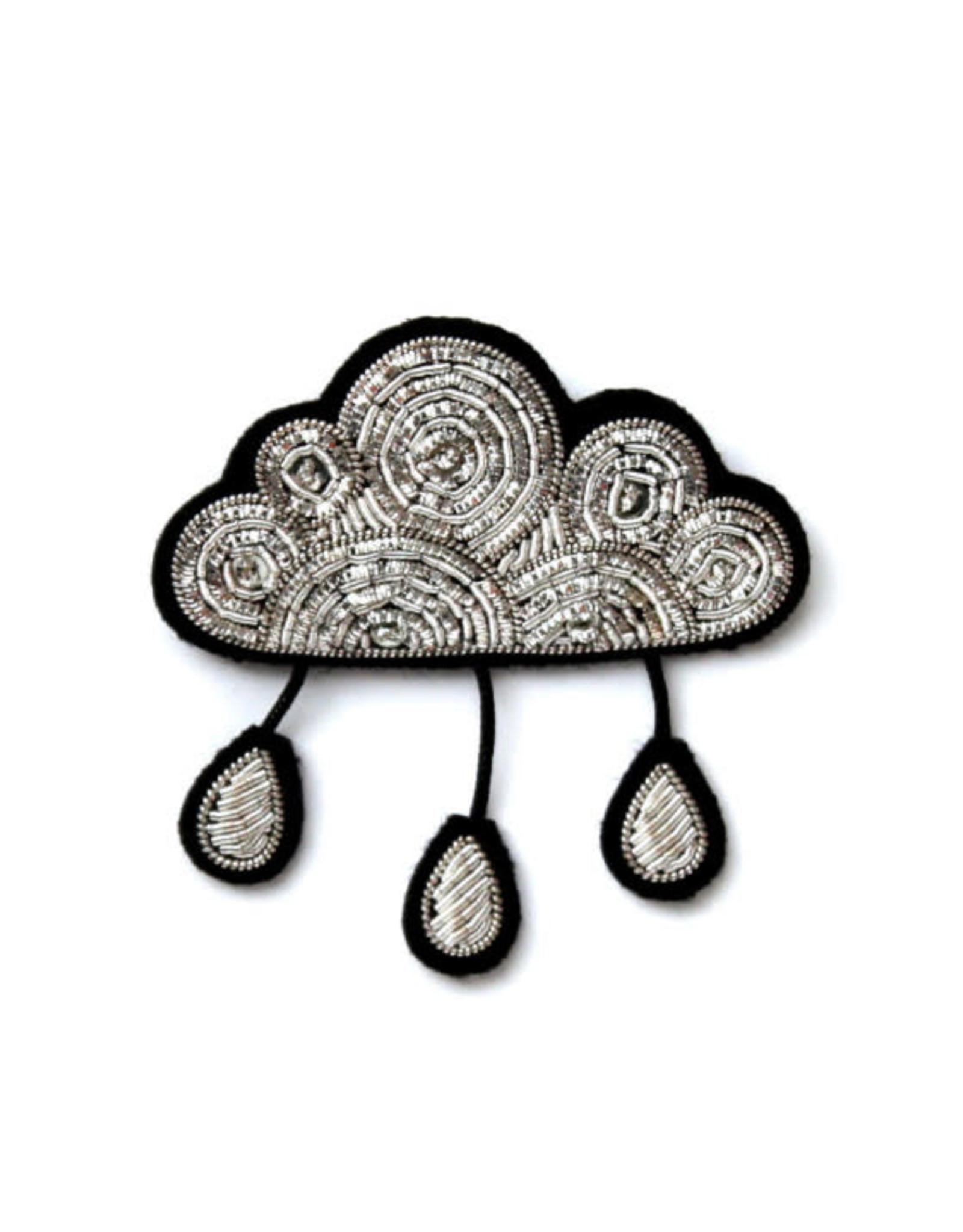 Macon&Lesquoy Brooch - Cloud and rain