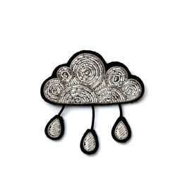 Macon & Lesquoy Brooch - Cloud and rain