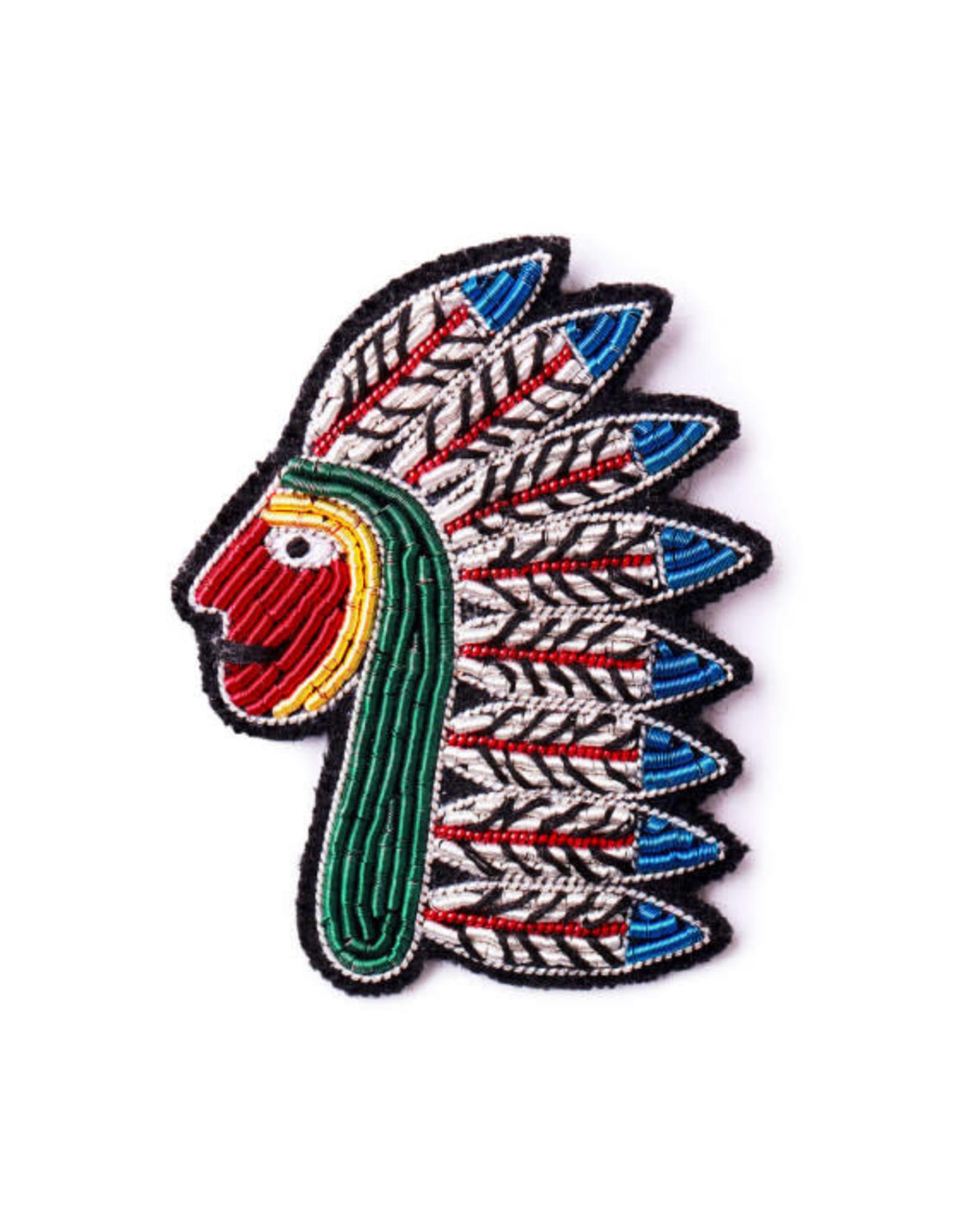 Macon&Lesquoy Brooch - Native American