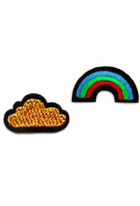 Macon&Lesquoy Patch - cloud and rainbow