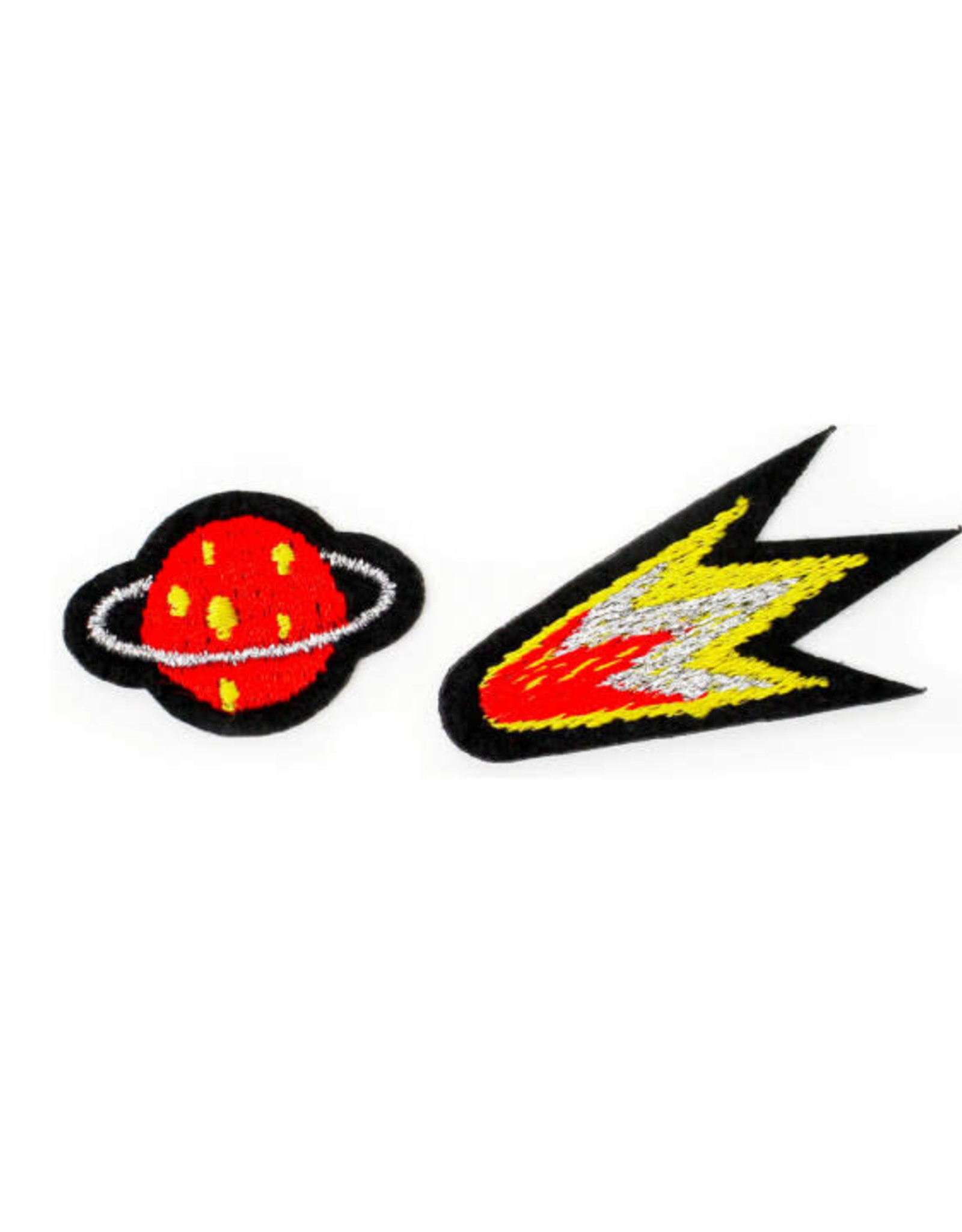 Macon&Lesquoy Patch - two patches -  comet and planet