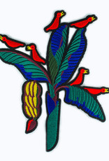Macon&Lesquoy Patch - large patch banana  tree and birds