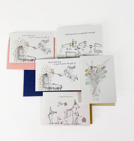 Marlies Boomsma Set of five gift cards