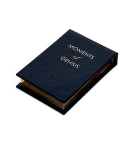 Sloane Stationary Moments of genius - note pads - navy