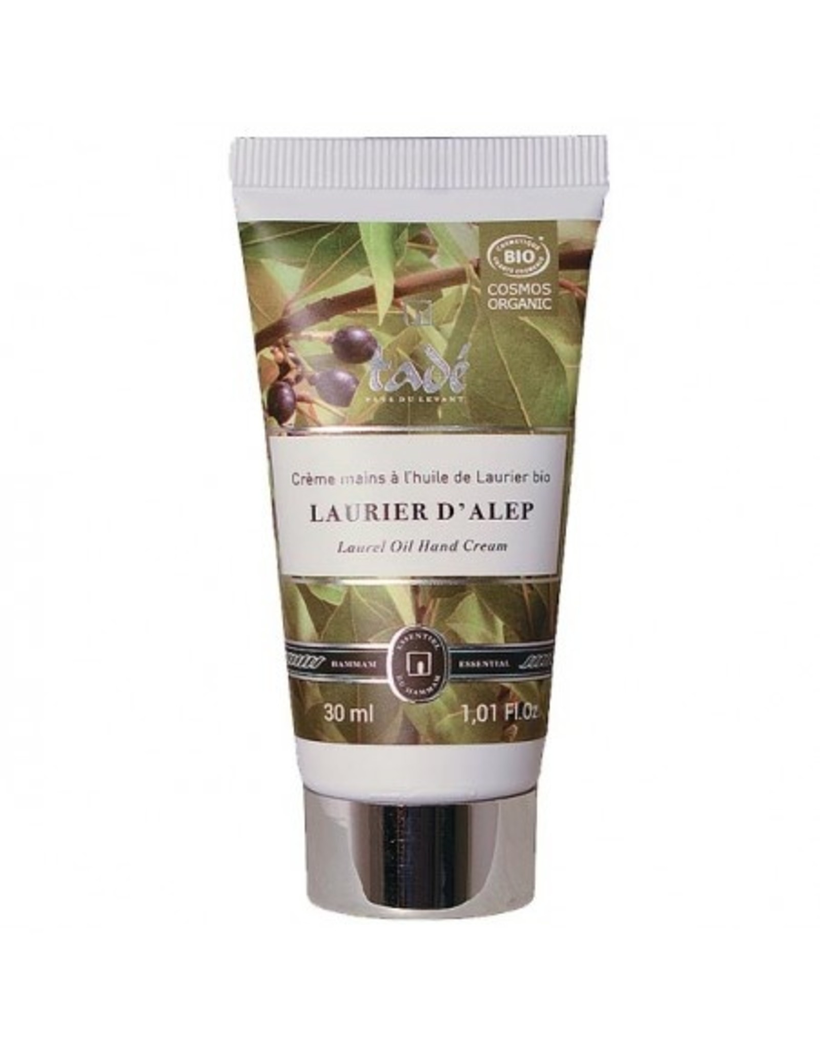 Tadé Aleppo extra mild hand cream with laurel flower oil - COSMOS ORG certified (30 g)