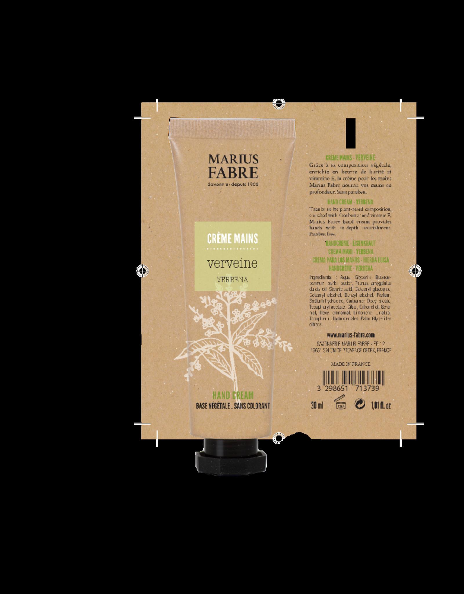 Marius Fabre Verbena fine hand cream - olive oil base (30 ml)