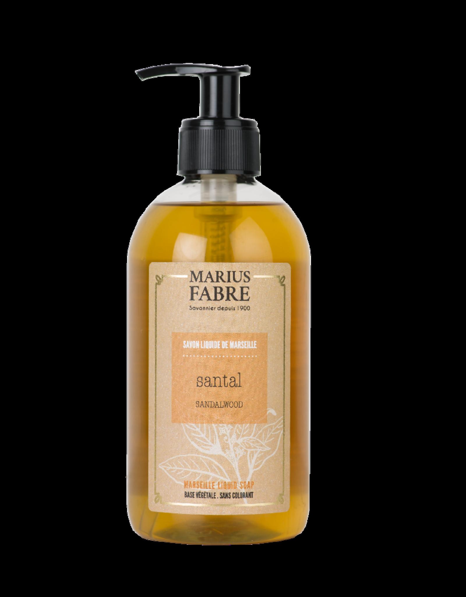 Marius Fabre Sandalwood liquid Marseille soap (400 ml)