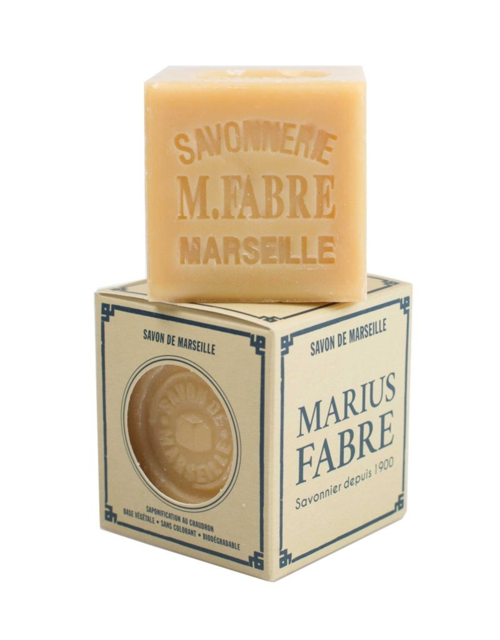 Marius Fabre Extra pure laundry and traveller's Marseille soap cube (200 g)