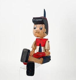 Vintage wooden Pinocchio