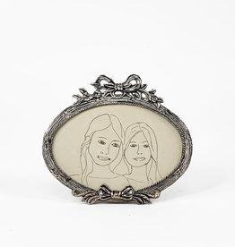 Vintage Oval shaped photo frame