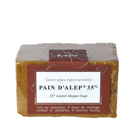 Tadé Aleppo Soap for extremely dry and sensitive skin - 35% laurel oil (200 g)