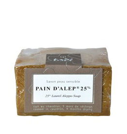 Tadé Aleppo Soap for dry and sensitive skin - 25% laurel oil (200 g)