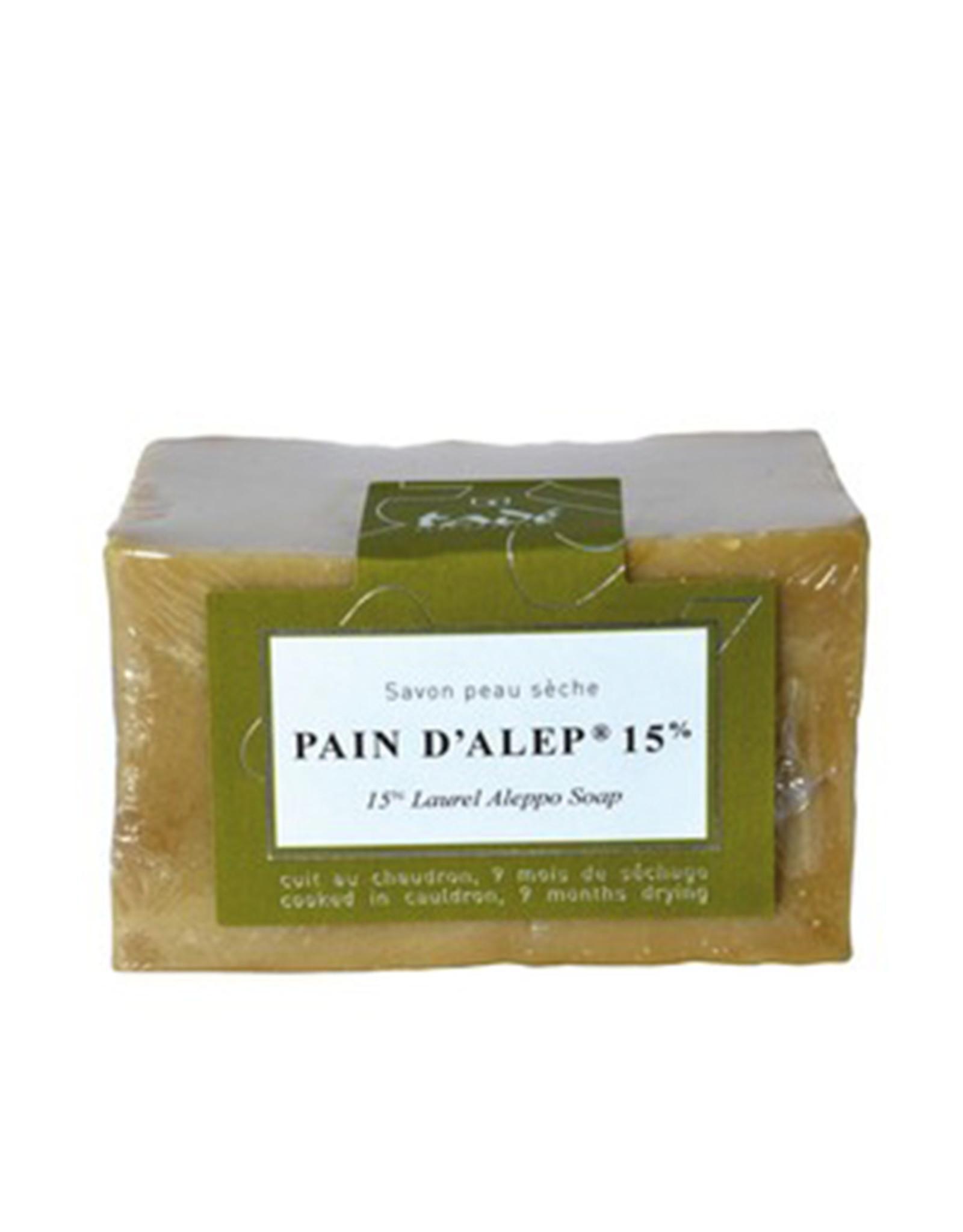 Tadé Aleppo Soap for dry skin - 15% laurel oil (200 g)
