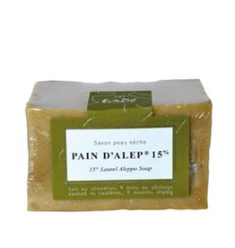 Tadé Aleppo Soap for dry skin - 15% laurel oil (200 g)