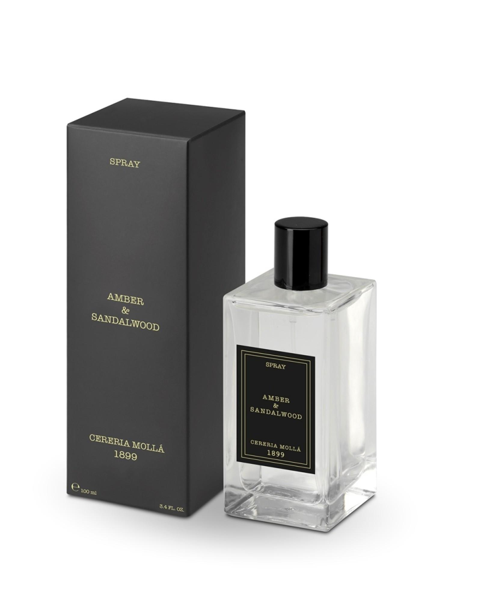 Cerería Mollá 1899 Amber & Sandalwood room spray (100 ml)