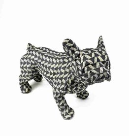 French Bulldog friend - grey & white
