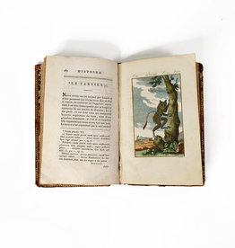 Vintage 19th century book 'Histoire naturelle'