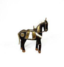 Vintage wooden horse