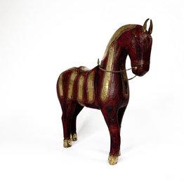 Vintage Decorative red miniature horse
