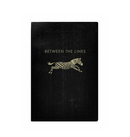 Sloane Stationary Between the lines - black softcover notebook