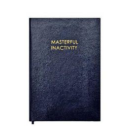 Sloane Stationery Masterful inactivity - Wise Man Collection Notebook