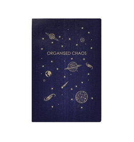 Sloane Stationary Organised chaos - softcover notebook - navy