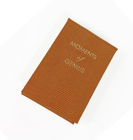 Sloane Stationery Moments of genius - note pads - cognac