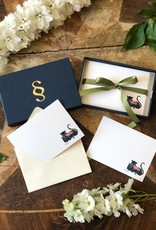 Stationery Stories Monogrammed  stationery set - Panther