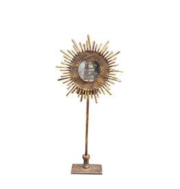 Sunburst candle holder