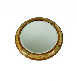 Vintage Italian round mirror