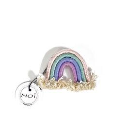 Pastel rainbow pin / brooch no. 2