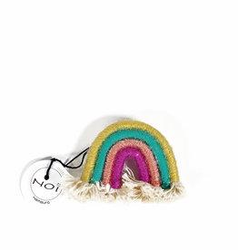 Rainbow pin / brooch  no. 1