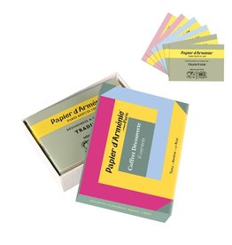 Papier d'Armenie 3 Perfumes incense paper starter box, pack of 6 booklets