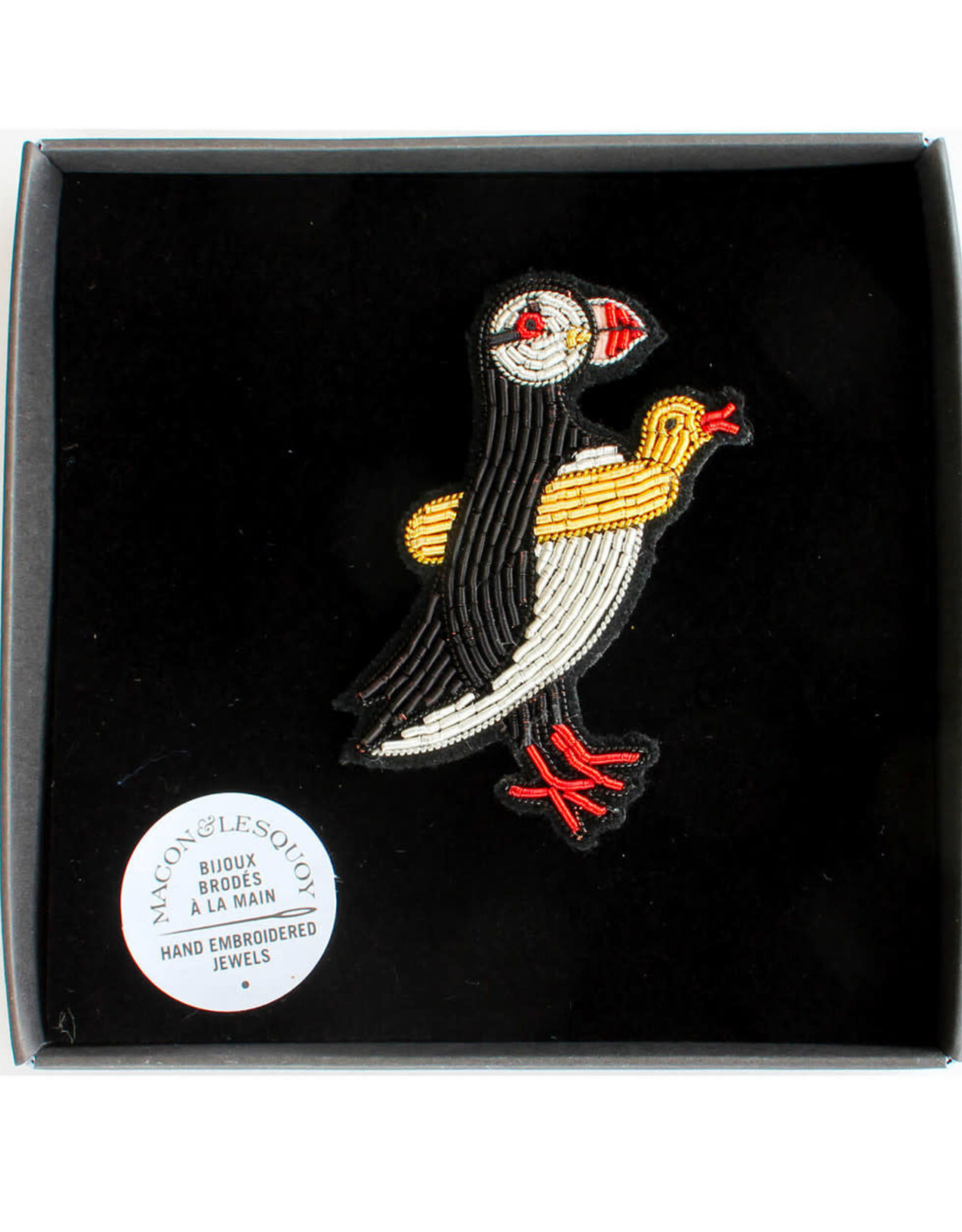 Macon & Lesquoy Brooch - Puffin